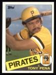1985 Topps #358  Tony Pena  Front Thumbnail