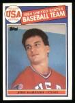 1985 Topps #399   -  John Marzano Team USA Front Thumbnail