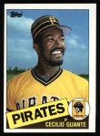 1985 Topps #457  Cecilio Guante  Front Thumbnail