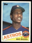 1985 Topps #479  Mike Madden  Front Thumbnail