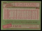 1985 Topps #583  Bobby Brown  Back Thumbnail