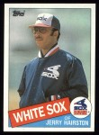 1985 Topps #596  Jerry Hairston  Front Thumbnail