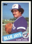 1985 Topps #622  Luis Leal  Front Thumbnail