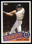 1985 Topps #643  Johnny Grubb  Front Thumbnail