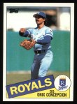 1985 Topps #697  Onix Concepcion  Front Thumbnail