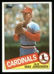 1985 Topps #783  Mike Jorgensen  Front Thumbnail