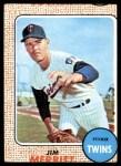 1968 Topps #64  Jim Merritt  Front Thumbnail