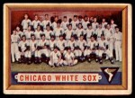 1957 Topps #329   White Sox Team Front Thumbnail