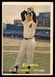 1957 Topps #398  Al Cicotte  Front Thumbnail