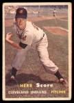 1957 Topps #50  Herb Score  Front Thumbnail