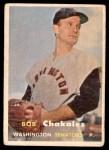 1957 Topps #261  Bob Chakales  Front Thumbnail