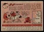 1958 Topps #236  Ed Fitzgerald  Back Thumbnail