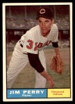 1961 Topps #385  Jim Perry  Front Thumbnail