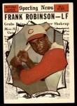 1961 Topps #581   -  Frank Robinson All-Star Front Thumbnail