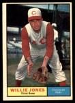 1961 Topps #497  Willie Jones  Front Thumbnail