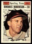 1961 Topps #572   -  Brooks Robinson All-Star Front Thumbnail