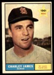 1961 Topps #561  Charlie James  Front Thumbnail