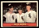 1961 Topps #337   -  Al Lopez / Herb Score / Early Wynn Al's Aces Front Thumbnail