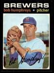 1971 Topps #236  Bob Humphreys  Front Thumbnail