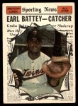 1961 Topps #582   -  Earl Battey All-Star Front Thumbnail
