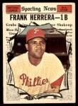 1961 Topps #569   -  Frank Herrera All-Star Front Thumbnail