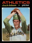 1971 Topps #238  Chuck Dobson  Front Thumbnail