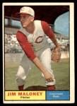 1961 Topps #436  Jim Maloney  Front Thumbnail