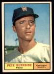 1961 Topps #507  Pete Burnside  Front Thumbnail