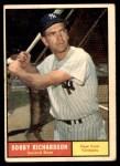 1961 Topps #180  Bobby Richardson  Front Thumbnail