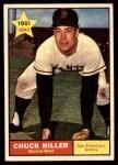 1961 Topps #538  Chuck Hiller  Front Thumbnail