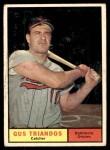 1961 Topps #140  Gus Triandos  Front Thumbnail