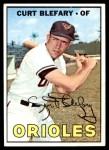 1967 Topps #180  Curt Blefary  Front Thumbnail