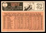 1966 Topps #358  Charlie Smith  Back Thumbnail