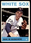 1964 Topps #247  Dave DeBusschere  Front Thumbnail