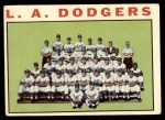 1964 Topps #531   Dodgers Team Front Thumbnail