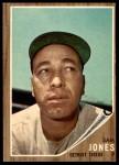1962 Topps #92  Sam Jones  Front Thumbnail