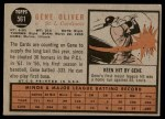 1962 Topps #561  Gene Oliver  Back Thumbnail