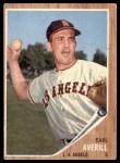 1962 Topps #452  Earl Averill Jr.  Front Thumbnail