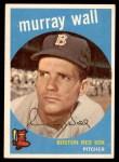 1959 Topps #42  Murray Wall  Front Thumbnail