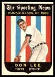 1959 Topps #132  Don Lee  Front Thumbnail