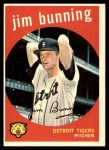 1959 Topps #149  Jim Bunning  Front Thumbnail