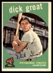 1959 Topps #160  Dick Groat  Front Thumbnail