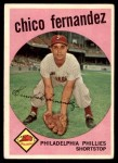 1959 Topps #452  Chico Fernandez  Front Thumbnail