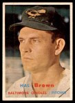 1957 Topps #194  Hal Brown  Front Thumbnail