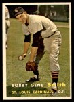 1957 Topps #384  Bobby Gene Smith  Front Thumbnail