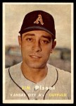 1957 Topps #402  Jim Pisoni  Front Thumbnail
