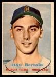 1957 Topps #390  Reno Bertoia  Front Thumbnail