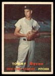 1957 Topps #108  Tommy Byrne  Front Thumbnail