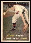 1957 Topps #121  Clete Boyer  Front Thumbnail