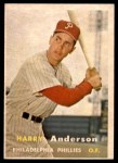 1957 Topps #404  Harry Anderson  Front Thumbnail